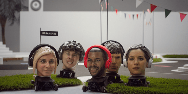 Urbanears Uses Sound To Control Racing 3d Printed Heads