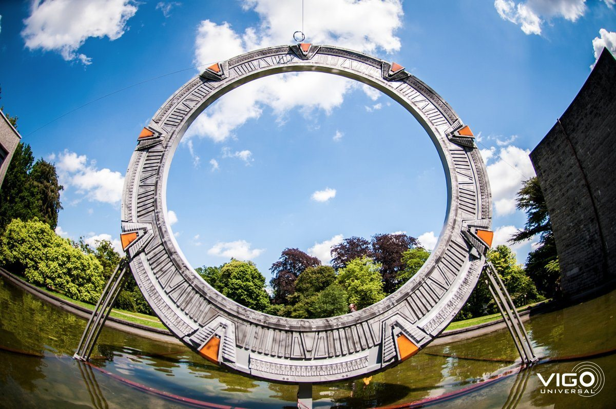 Life Size Stargate Portal Replica 3d Printing Industry
