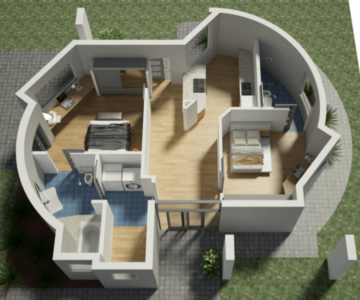 Houses 3d Printers Made