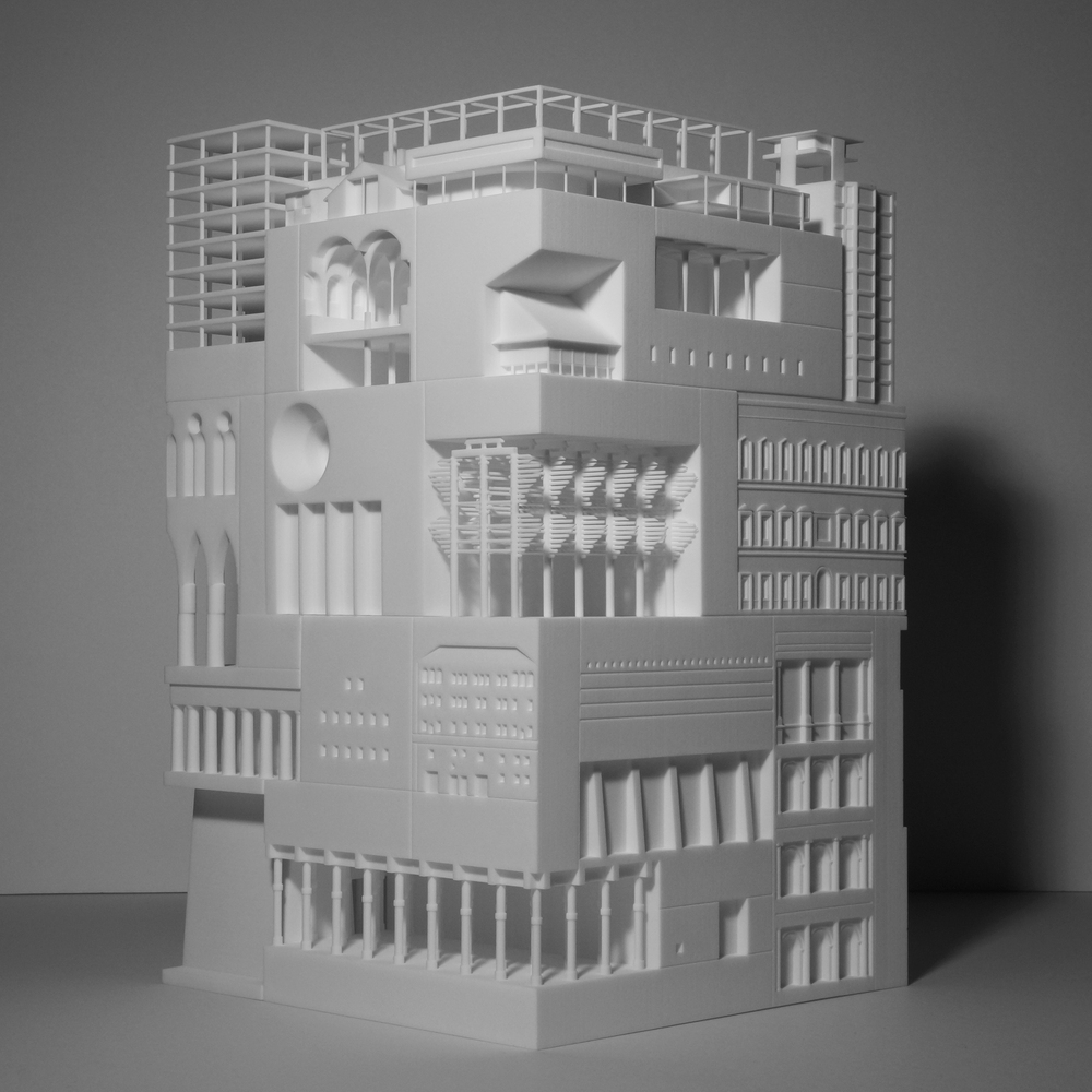 30 berühmte Gebäude in einem 3D-gedruckten Modell vereint - 3Druck.com
