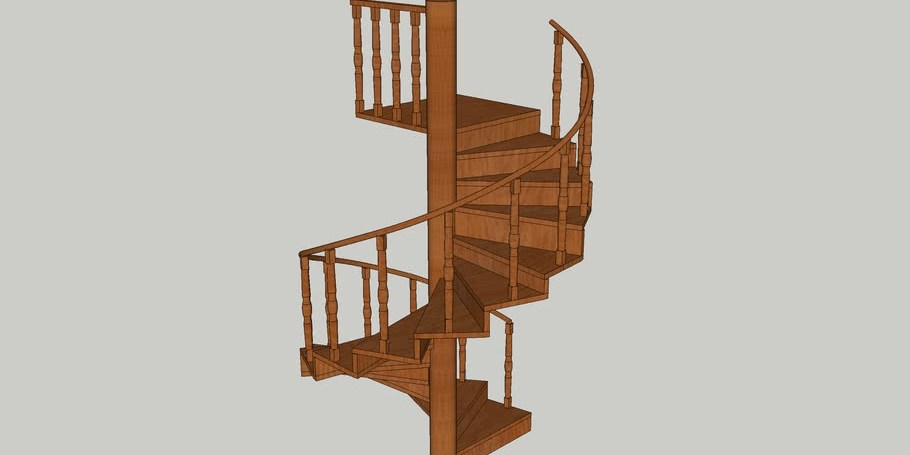 10 Foot Spiral Staircase 3D Warehouse | 10 Foot Spiral Staircase | Reroute Galvanized | Lowes | Stair Kit | Winding Staircase | Staircase Kit