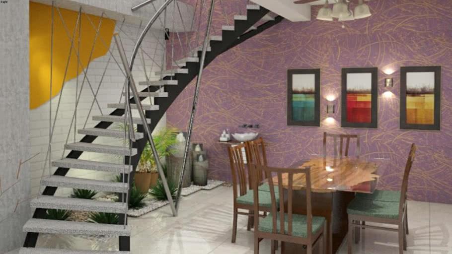 Duplex Stair Design 3D Warehouse   Staircase Design For Duplex   Unique   Wood   Space   False Ceiling   Contemporary