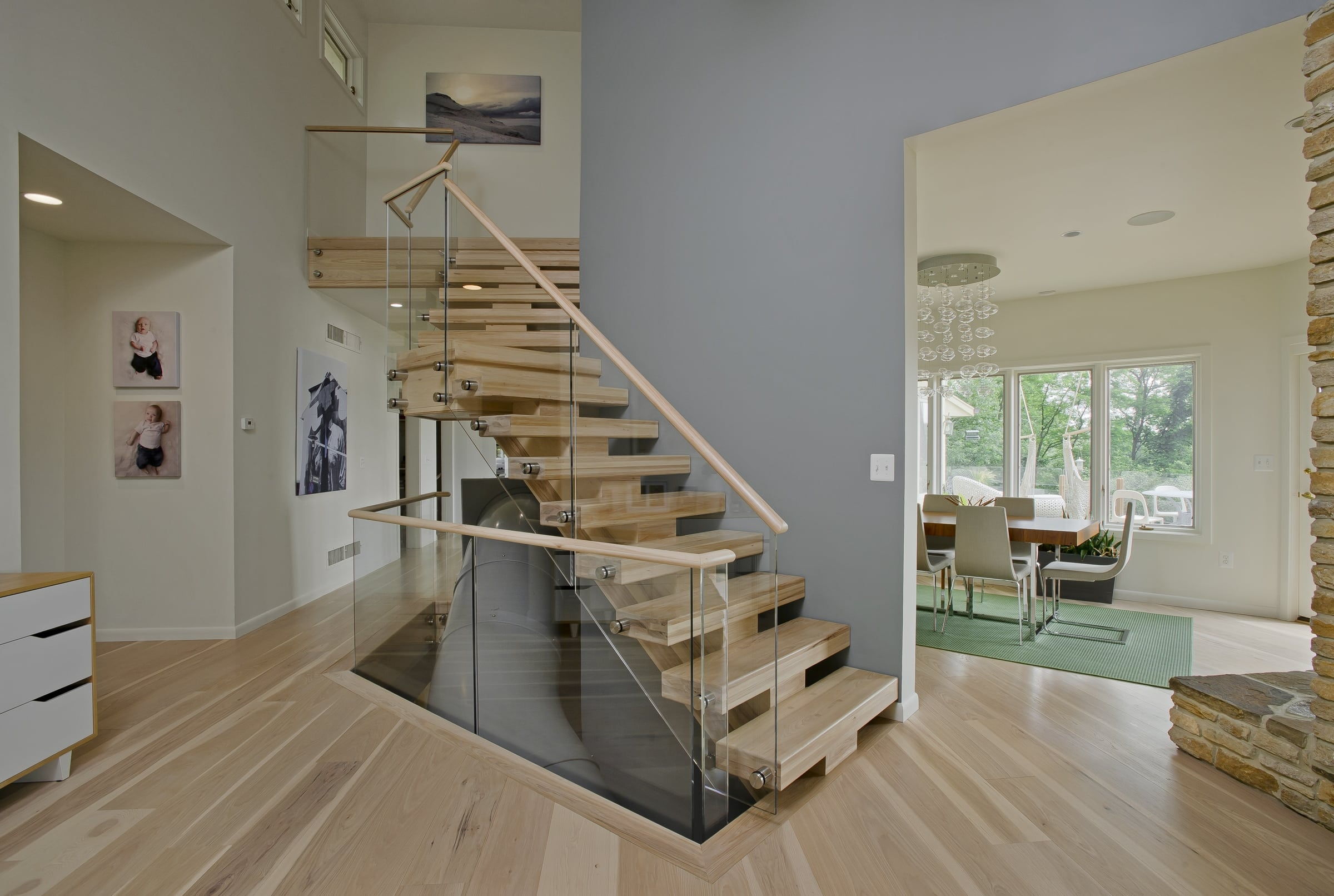 Floating Staircase Cost Design Ideas Owings Brothers Contracting | Designs Of Stairs Inside House | Interior | 2Nd Floor | Duplex | Recent | House Indoor