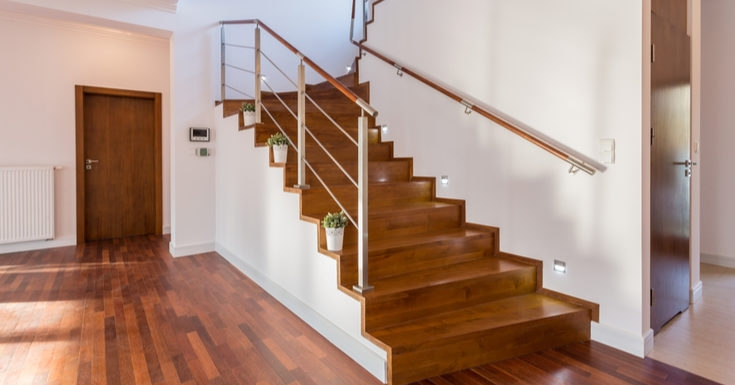 The 10 Best Stair Railings You Can Order Online Rethority Real | Indoor Stair Railings Home Depot | Metal | Interior | Deck Stair | Aluminum Railing | Iron Stair