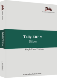 RS CFA   View Specifications   Details of Tally Accounting Software     Tally ERP9  silver