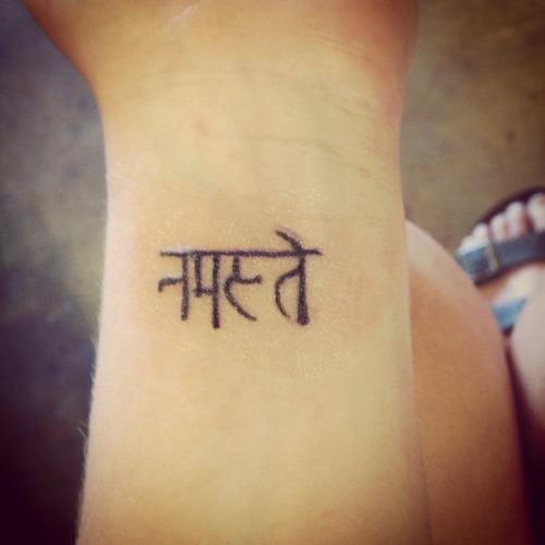 namaste tattoo   Tumblr
