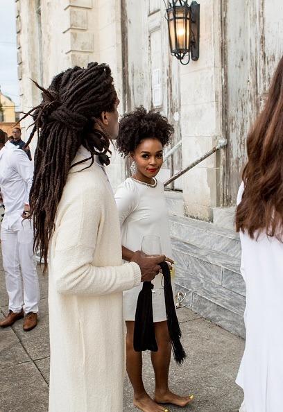 Black Woman Hippie Afro
