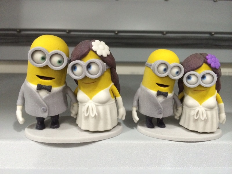 Minion Wedding Cake Toppers  Seriously    MinionHate Minion Wedding Cake Toppers  Seriously