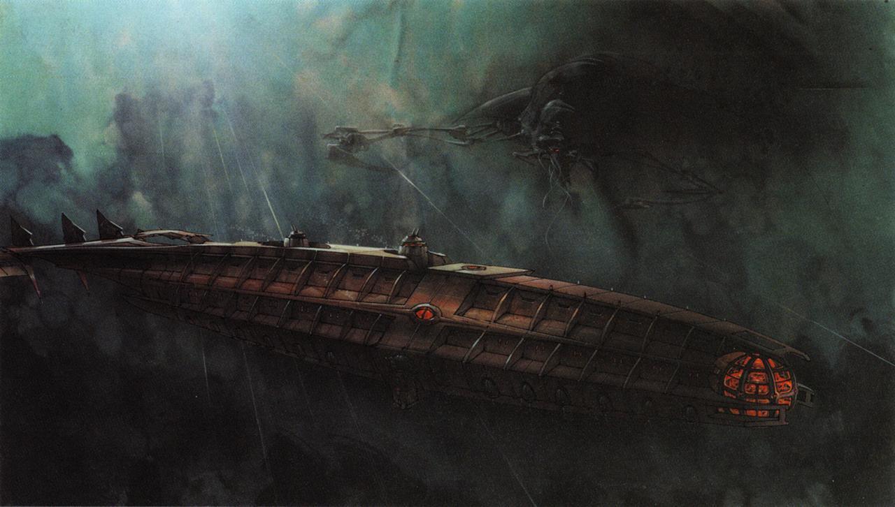 Atlantis Lost Empire Ship