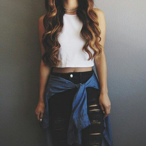 Black Skinny Jeans Outfit Tumblr