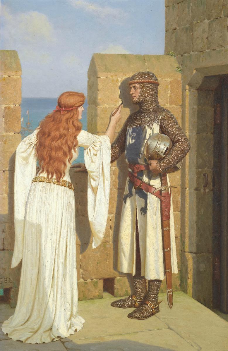Painting Edmund Blair Leighton