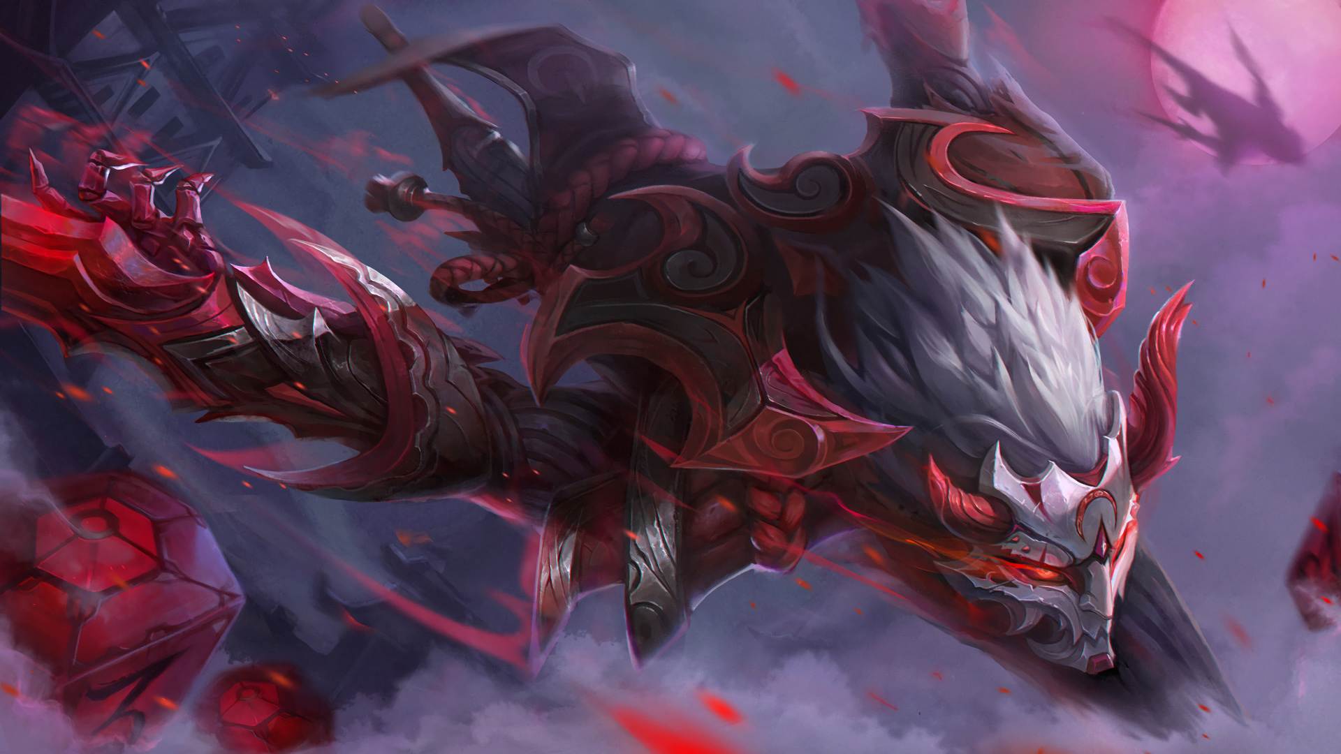 nocturne skins 2018 in game - HD1600×900