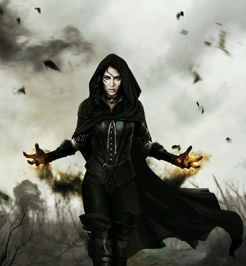 Geralt Witcher And 3 Yennefer