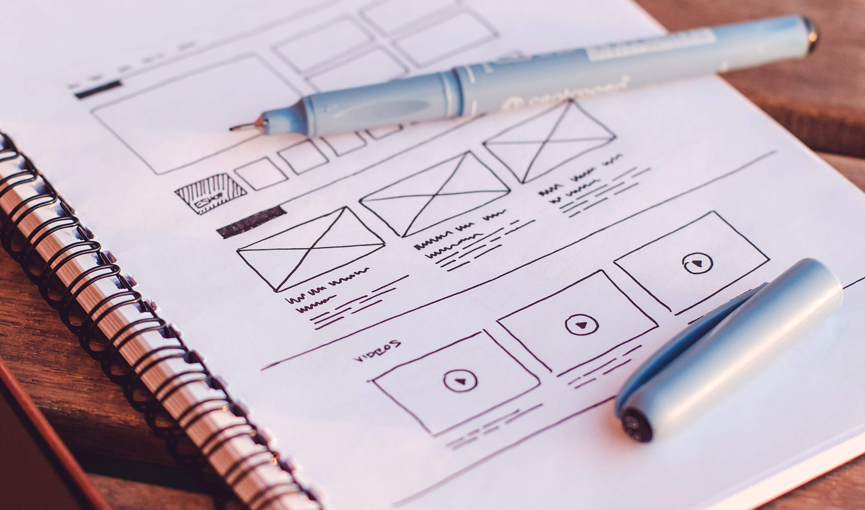 Wireframing your next web design project is important   45royale The importance of wireframing