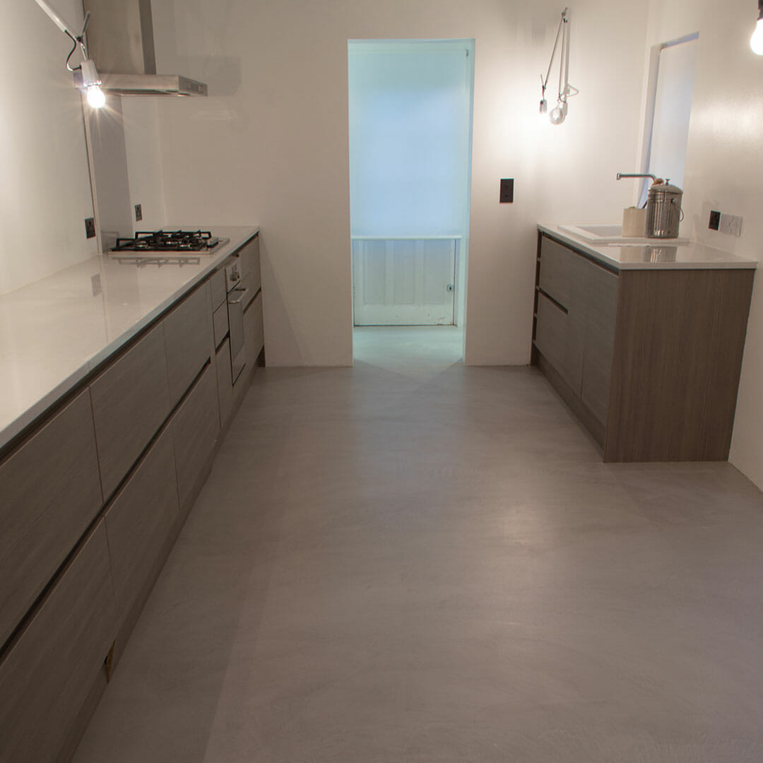 Microcement Kitchen Floor
