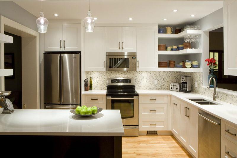 Small Closed Kitchen Designs