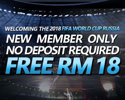 New iBET registration gets instant RM8 FREE