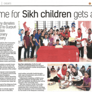 Home for Sikh children gets aid By iBET 4D Online Betting