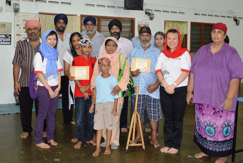 4D Result donates RM10,000 to Kg Pandan Gurdwara and Sikh families