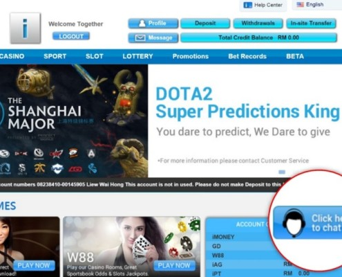 4D Online Betting DOTA2 event 2016