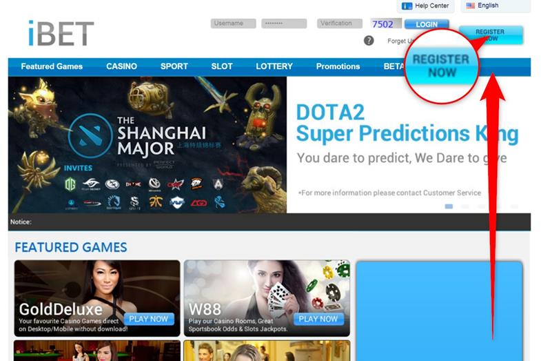 How to bet Dota2 E-Game in iBET IBC iBIT Sport--