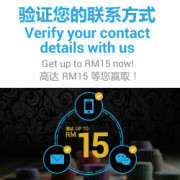 4D Online Casino Verify and Get RM 15 For Free!