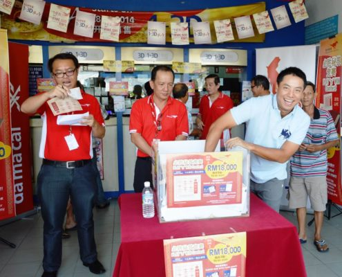 66 Lucky Customers 4dresult Won RM18,000
