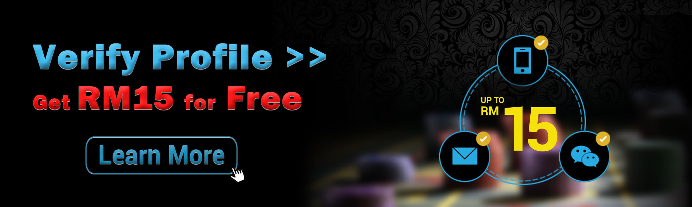 4D Online Casino Verify and Get RM 15 For Free