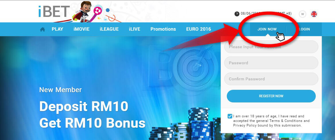 Up to 8000 prize per RM 1 bet, Play Online 4D Betting in iBET
