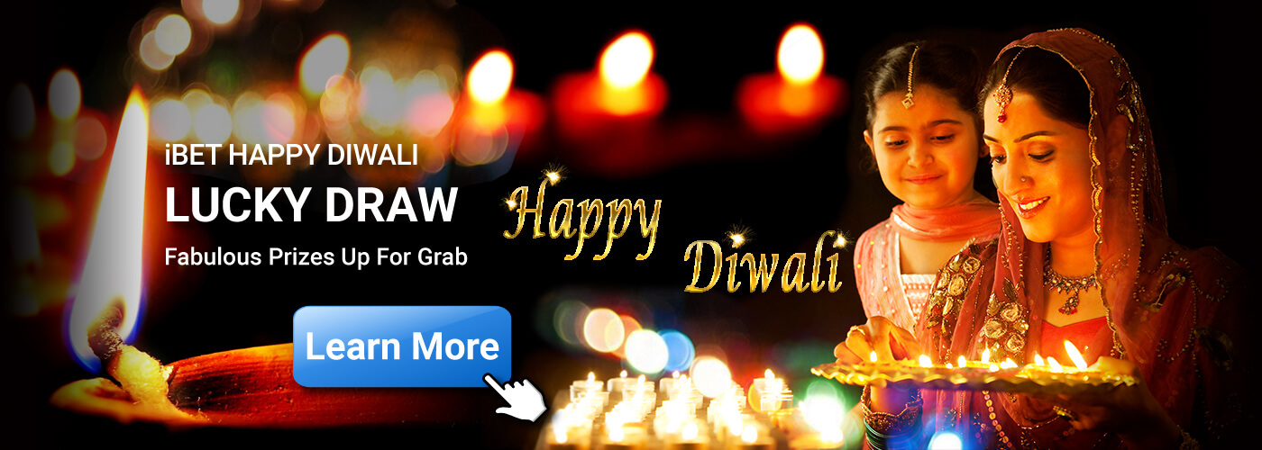4Dresult Happy Diwali lucky Draw in iBET Promotion
