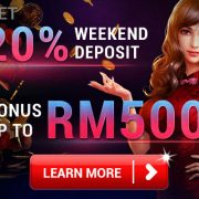 4D Malaysia Gives You 20% Weekend Deposit Bonus