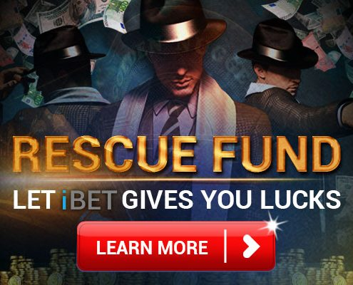 4D Recommend Gives You iBET Rescue Fund Bonus