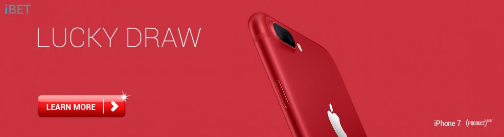 4D Result :iBET iPHONE7 Plus Red Lucky Draw
