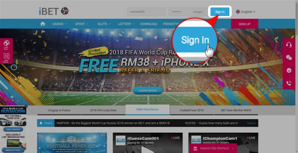 4D Result Malaysia iBET sign in