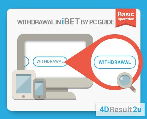 4D Result Malaysia-withdrawal tutorial