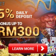 4Dresult 5% Daily Deposit Bonus Only iBET Casino