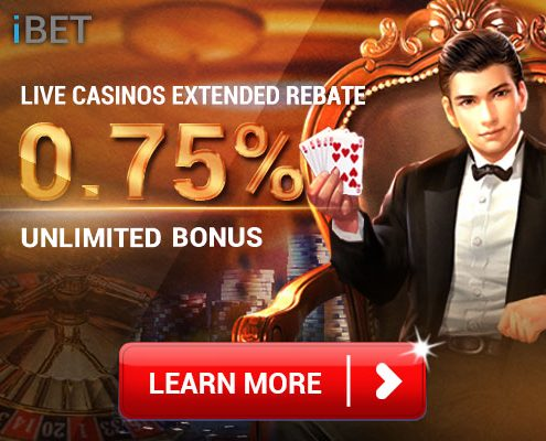 Live Casino Rebate 0.75% Bonus By iBET 4D Result