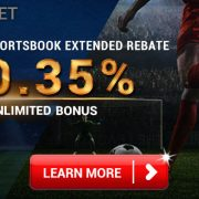 iBET Sport Betting Cashback 0.35% - 4D Result