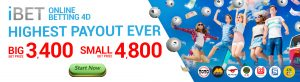 Malaysia online 4D betting in iLOTTERY by iBET Malaysia