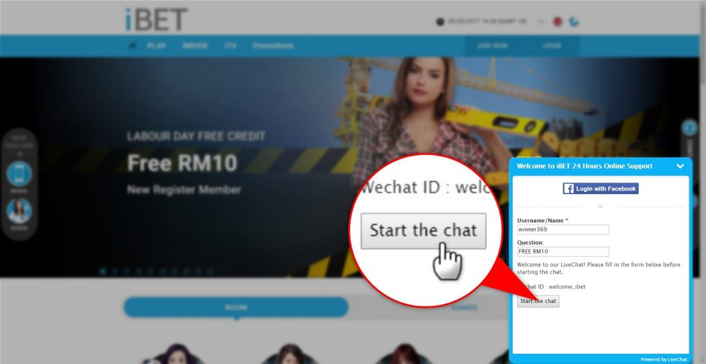 iBET Teach You How To Get Labour Day Free RM10 in 4D step9