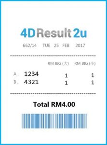 4D Result Malaysia ─Reverse Bet