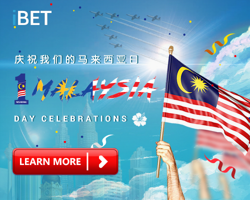 iBET Super RM18 Celebrate Happy Malaysia Day