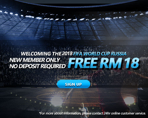 iBET Promption – New iBET registration gets instant RM8 FREE