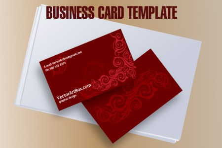 Business Card Template Free Vector   4Vector free vector Business Card Template