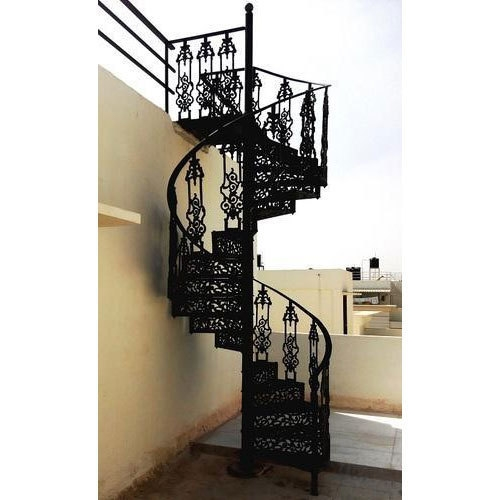 Cast Iron Spiral Staircase At Rs 4500 Feet Cast Iron Stairs Id | Cast Iron Spiral Staircase Cost | Balcony | Stair Parts | Stainless Steel | Low Cost | Shenzhen