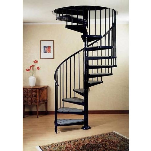 Iron Spiral Stairs Rs 40000 Piece Y S Khan Steel   Steel Spiral Staircase Price