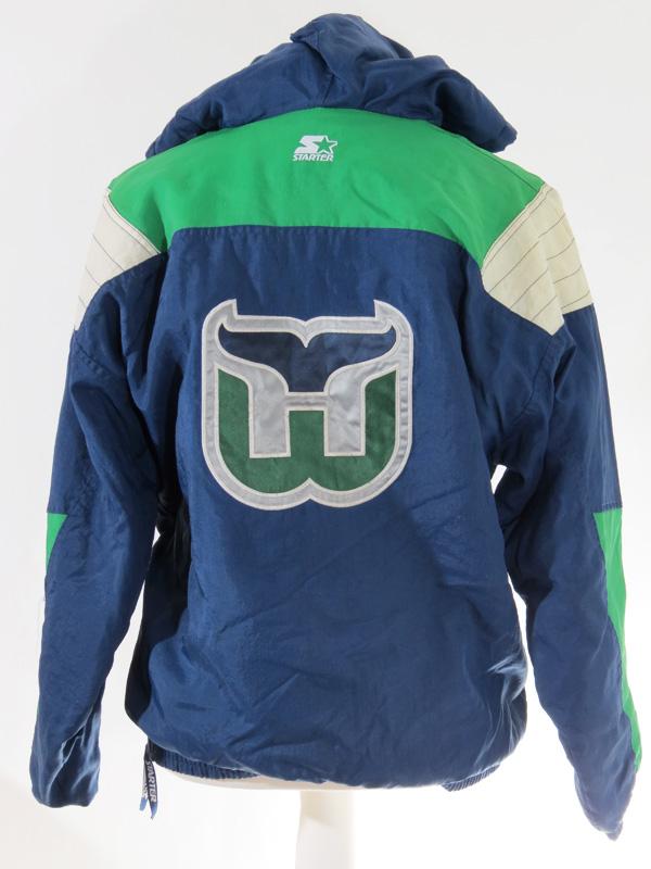 Vintage Hartford Whalers Green Starter Puffy Jacket 5