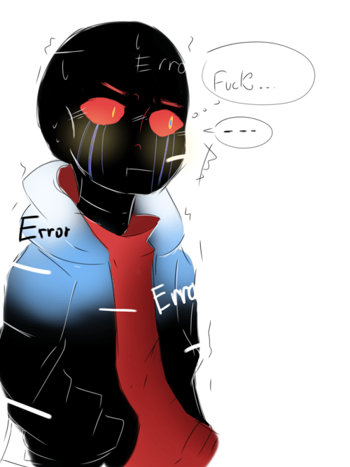 Ink Error Sans X Comics