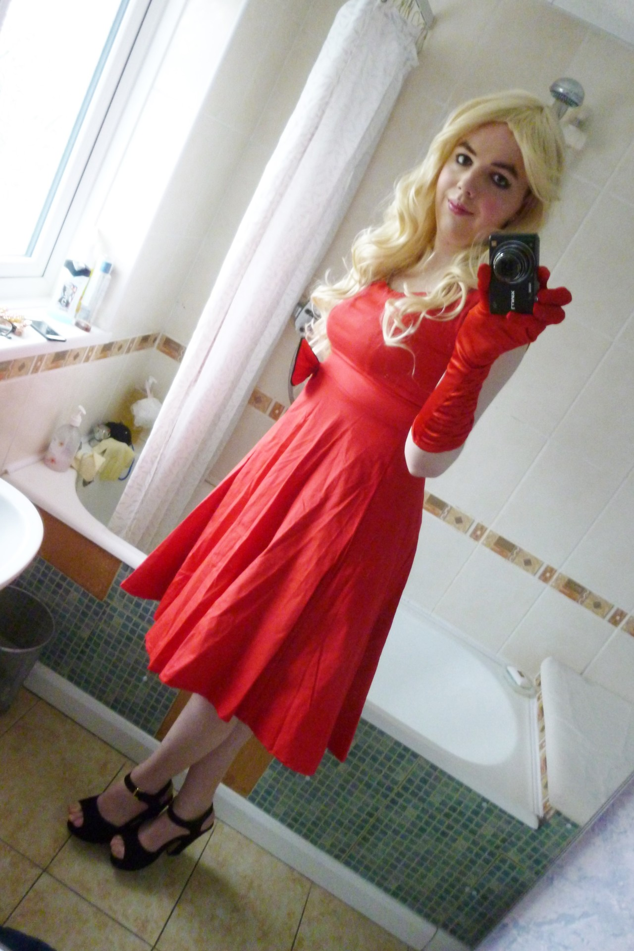 Lucy S Blog Pictures This Dress Looks Gorgeous With The
