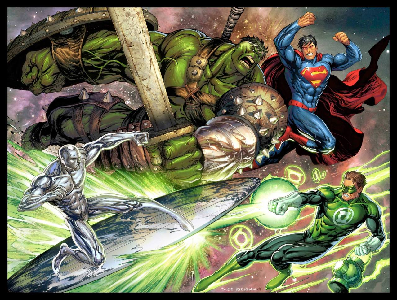 Ungoliantschilde — bear1na: Superman vs. Planet Hulk and ...